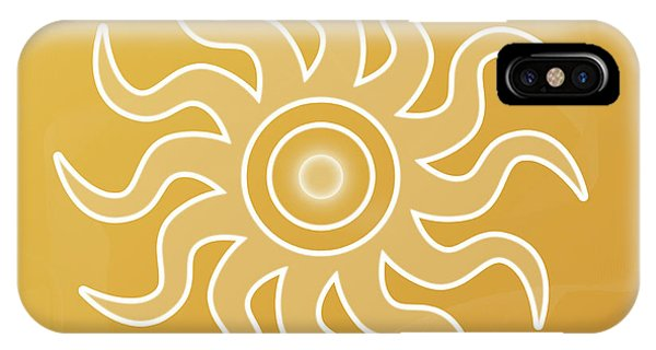 Sun Salutation IPhone Case