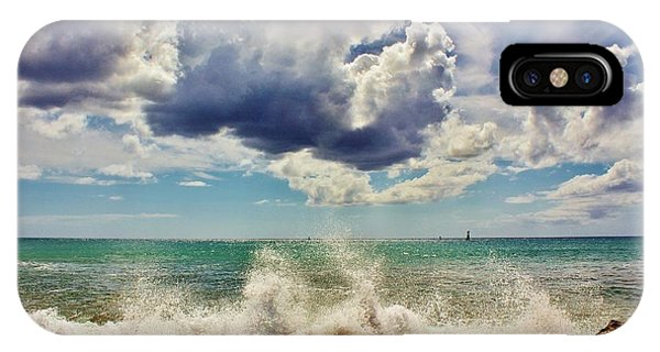 Sun, Sea And Sky IPhone Case