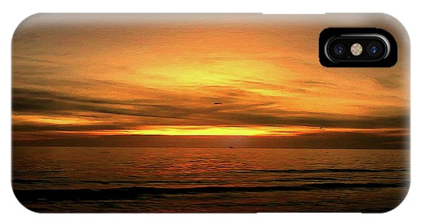 Sun Set On The Gulf IPhone Case