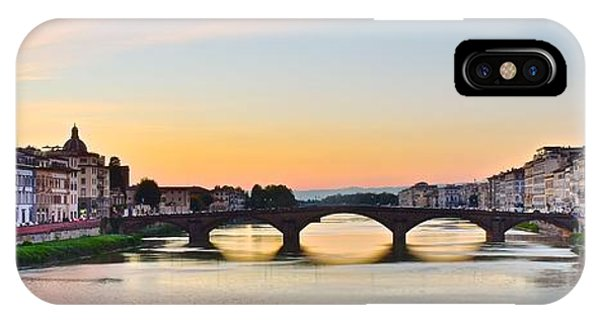 Sun Sets On Florence IPhone Case