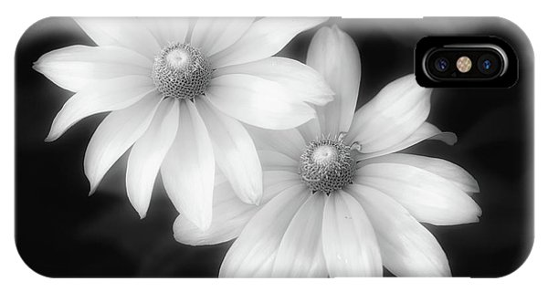 Sun Sisters In Black And White IPhone Case