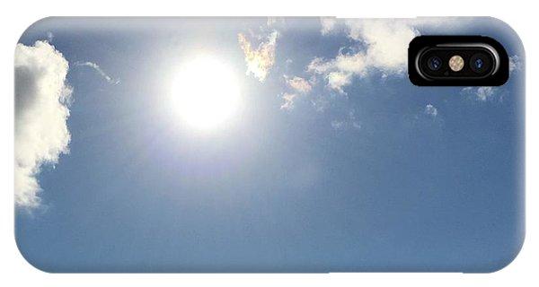 Sun Sky Angel IPhone Case