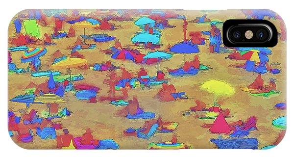 Sun Umbrellas IPhone Case