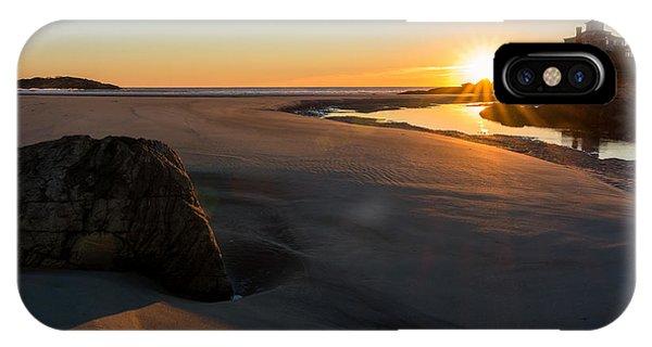 Sun Up Good Harbor IPhone Case