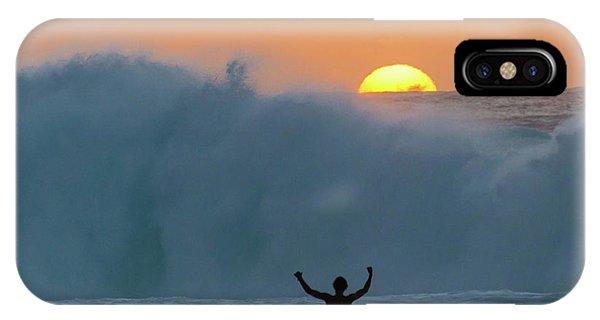 Sun Worship IPhone Case