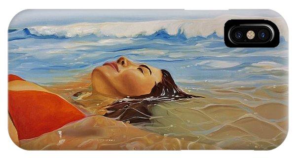 Sunbather iPhone Case - Sunbather by Crimson Shults