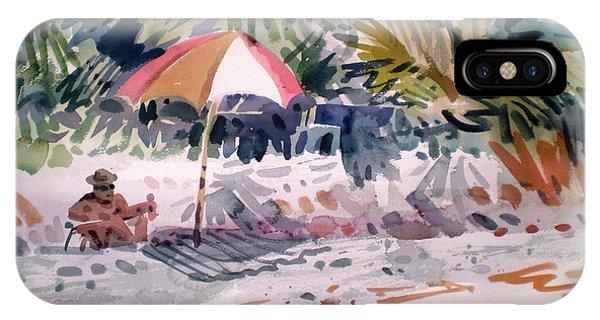 Sunbather iPhone Case - Sunbather by Donald Maier
