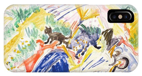 Sunbather iPhone Case - Sunbathing by Ernst Ludwig Kirchner