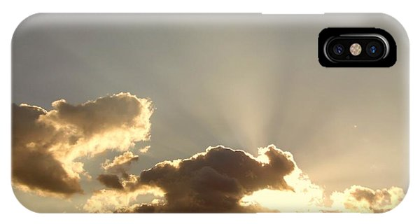 Trumpeting Triumphantly Sunrise IPhone Case