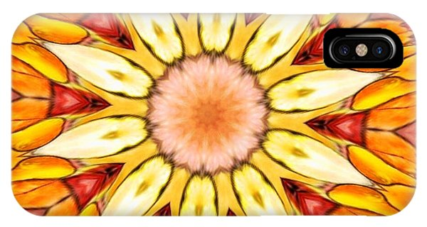 Blossom iPhone Case - Sunbloom by Nick Heap
