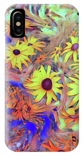 Sunday Flower IPhone Case