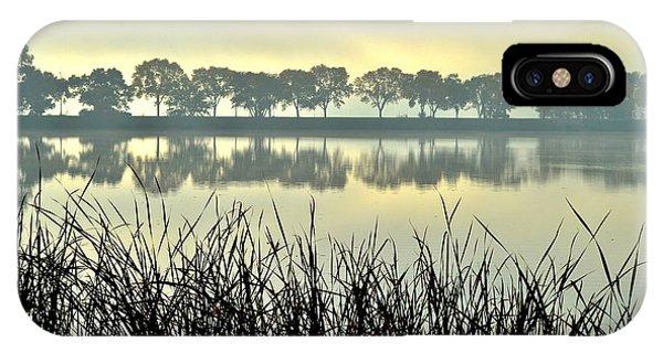 Fog At Sunrise IPhone Case