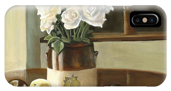 Sunday Morning And Roses - Study IPhone Case