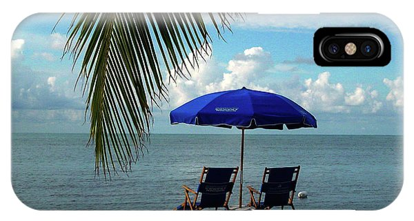 Sunday Morning At The Beach In Key West IPhone Case