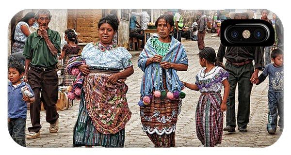 Sunday Morning In Guatemala IPhone Case