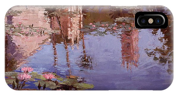 Sunday Reflections - Water Lilies IPhone Case