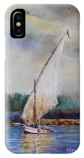 Sunday Sail Phone Case by Joyce A Guariglia
