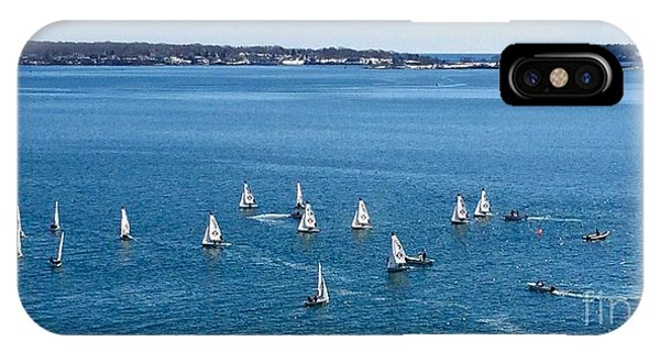 Sunday Sailing School On Casco Bay IPhone Case