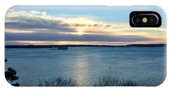 Sunday Sunrise On Casco Bay IPhone Case