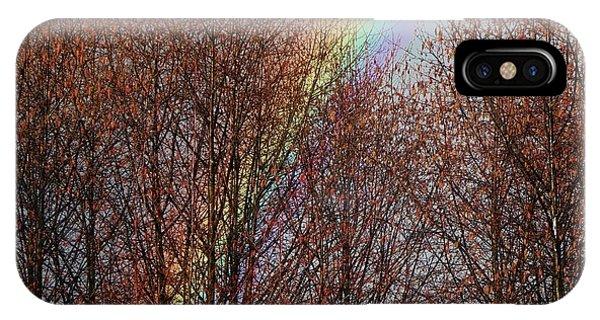 Sunday's Rainbow IPhone Case