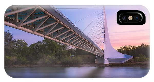 Sundial Bridge 6 IPhone Case