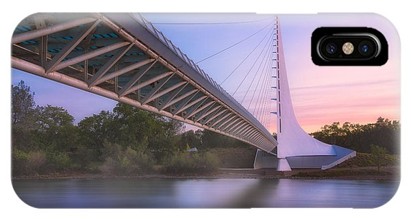 Sundial Bridge 6 IPhone Case