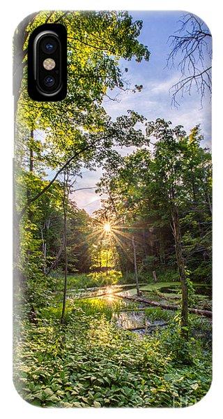 Sundown At Creekside IPhone Case