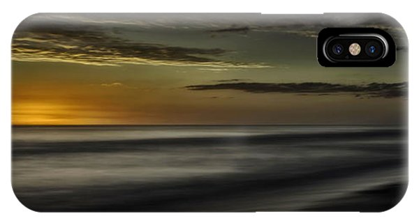 Sundown At Santa Rosa Beach IPhone Case