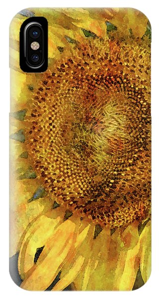 Sunflower 2254 Idp_2 IPhone Case