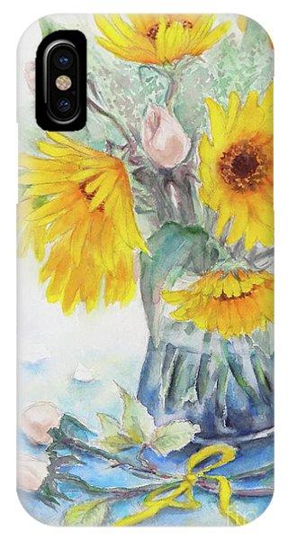Sunflower-4 IPhone Case