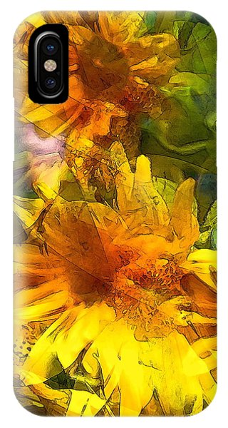 Sunflower 6 IPhone Case