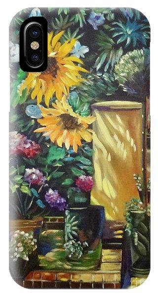 Sunflower Aloha IPhone Case