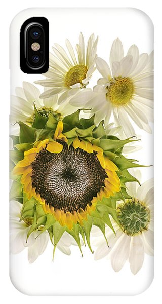 Sunflower And Daisies IPhone Case