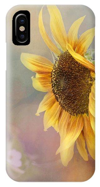 Sunflower Art - Be The Sunflower IPhone Case