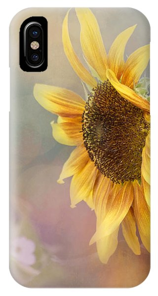 Sunflower Art - Be The Sunflower IPhone Case
