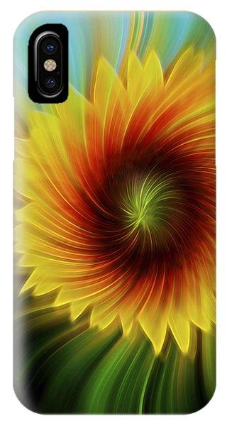Sunflower Beams IPhone Case