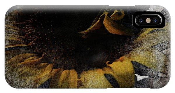 Sunflower Canvas IPhone Case