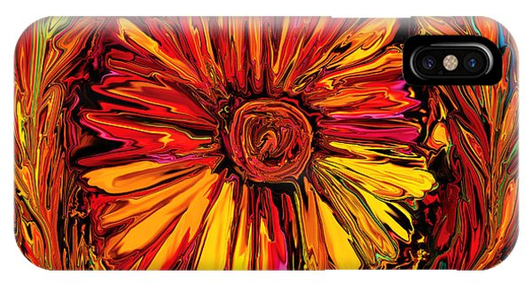Sunflower Emblem IPhone Case