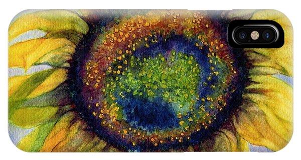 Sunflower  Emergence IPhone Case
