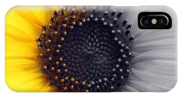 Sunflower Equinox IPhone Case