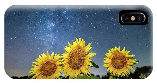 Sunflower Galaxy II IPhone Case