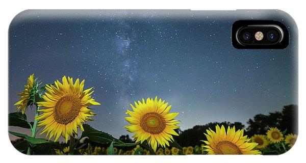 Sunflower Galaxy V IPhone Case