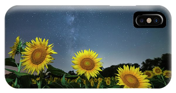 Sunflower Galaxy V IPhone Case