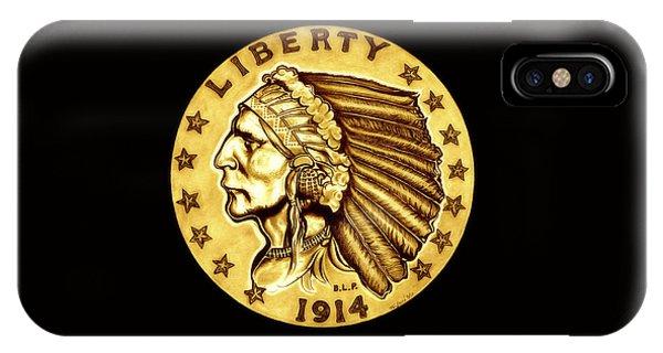 Sunflower Gold Quarter Eagle IPhone Case