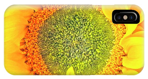 Sunflower Hdr IPhone Case