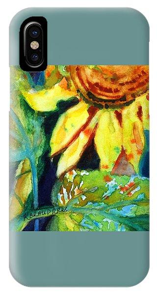 Sunflower Head 4 IPhone Case