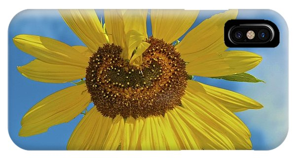 Sunflower Heart IPhone Case