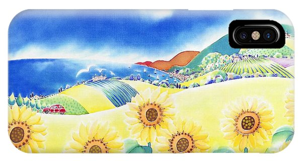 Sunflower Hills IPhone Case