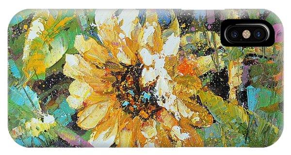 Sunflower I IPhone Case