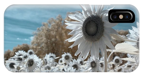 Sunflower Infrared  IPhone Case